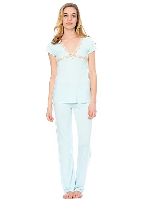 Reflections Pijama Takımı Beyaz